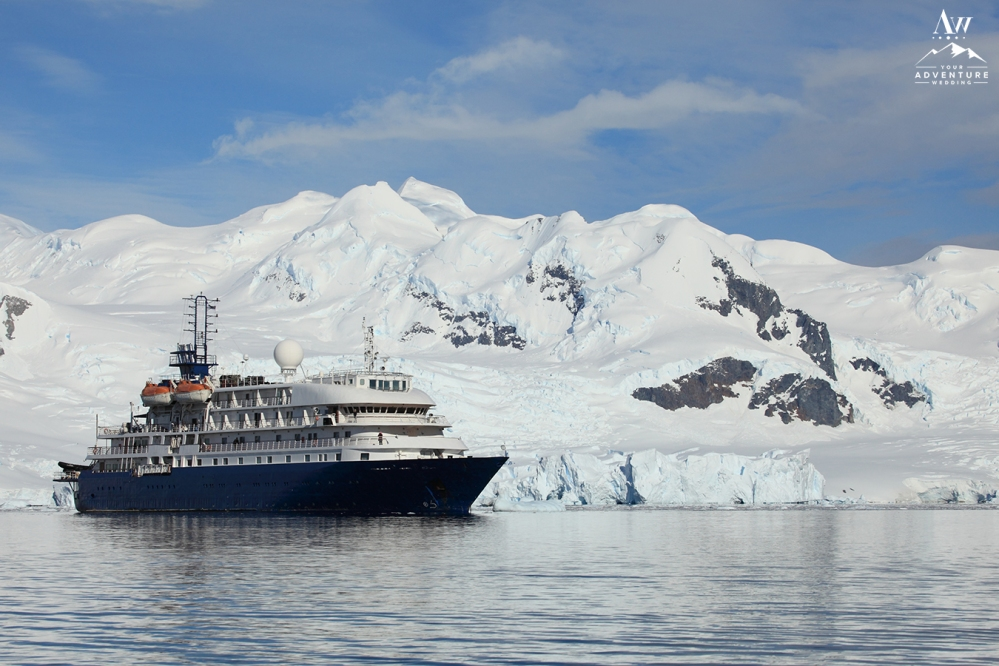 Antarctica Adventure Wedding