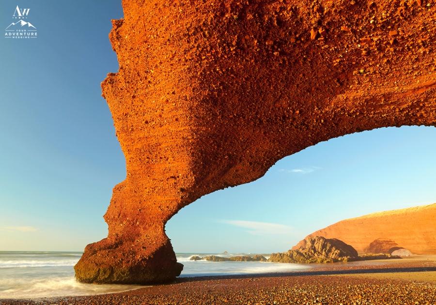 Morocco Wedding Adventure Red Arch