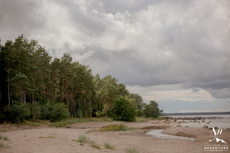 Estonian Beach Wedding