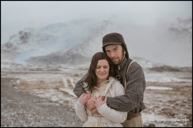 Glacier Lagoon Wedding Photos by Miss Ann