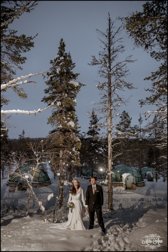 Igloo Hotel Wedding Finland Wedding Photographer and Planner
