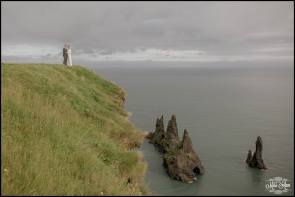 Wedding Photos at Reynisfjara Cliff