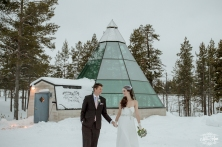 Finland Wedding Igloo Hotel by Your Adventure Wedding-4