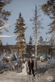Finland Wedding Igloo Hotel by Your Adventure Wedding-8